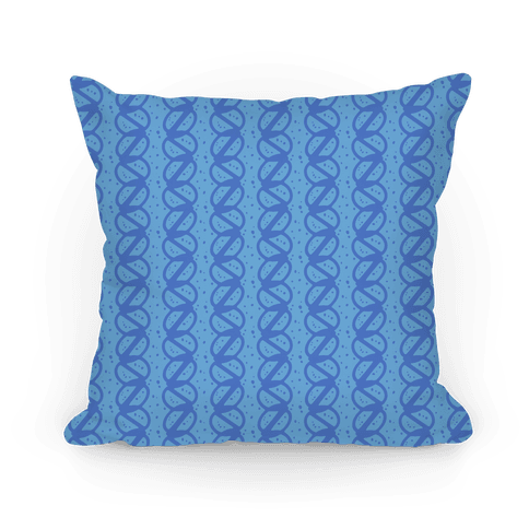Blue Braid Stripe Pattern
