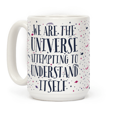 We Are The Universe Attempting to Understand Itself