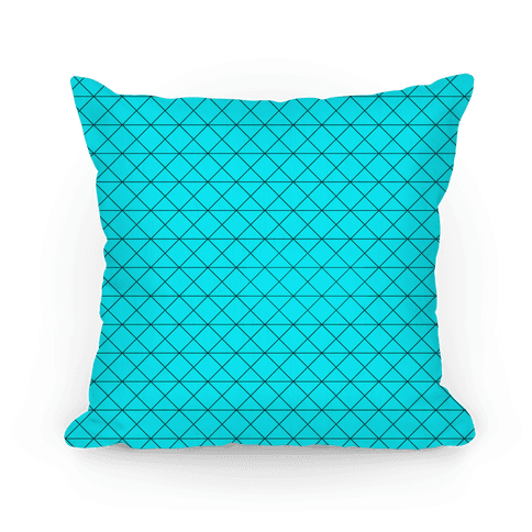 Teal Grid Pattern