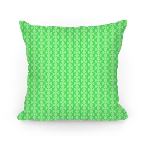 Lime Green Geometric Pattern