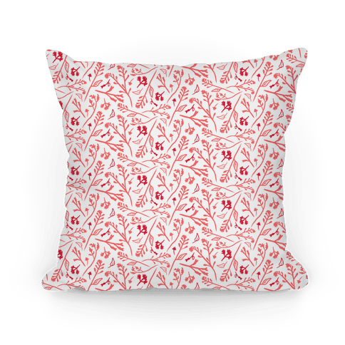 Lovely Wildflower Meadow Pink Pattern