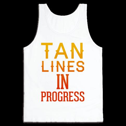 Tan Lines In Progress