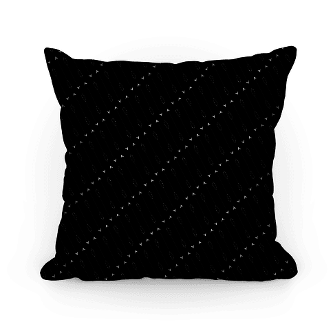 Black Diagonal Arrow Pattern