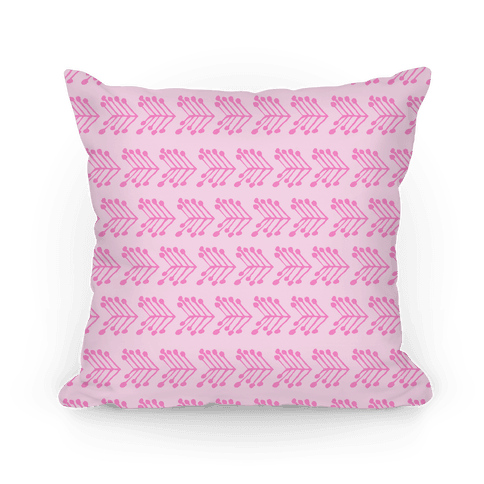 Pink Cute Chevron Pattern