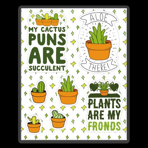 Succulent Plant Puns