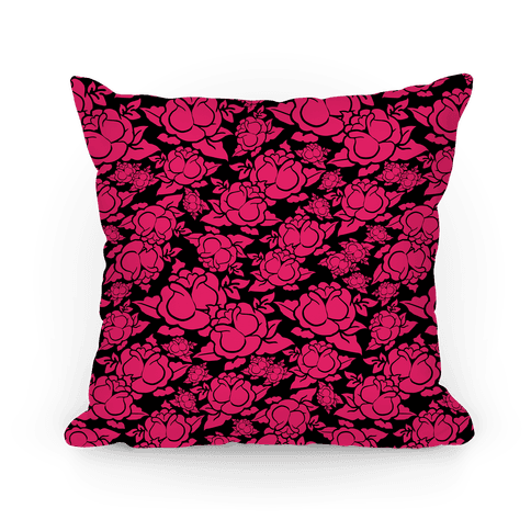 Pink and Black Rose Pattern