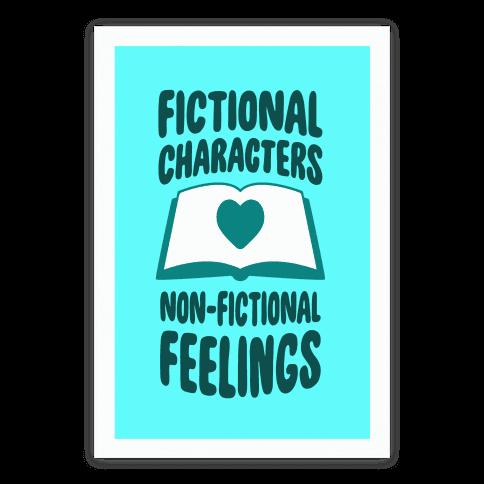 Fictional Characters, Non-Fictional Feelings
