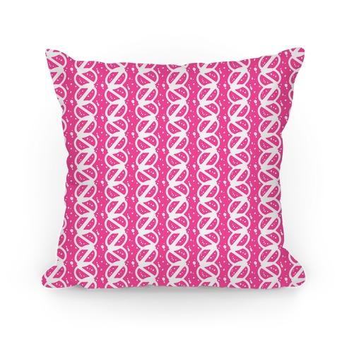 Pink Braid Stripe Pattern