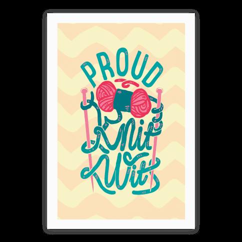 Proud Knit Wit