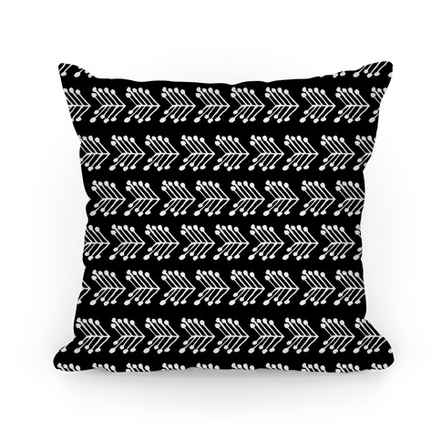 Black Cute Chevron Pattern