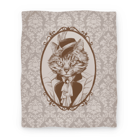 Victorian Portrait of Cat Lady