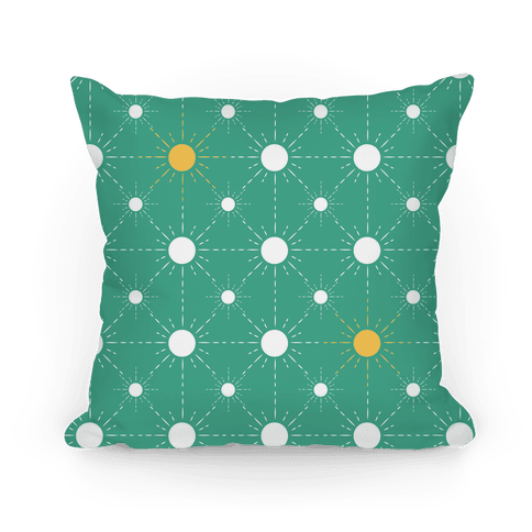 Sunshine Diamond Green Pattern