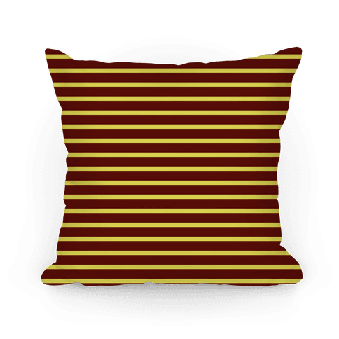 Gryffindor House Stripe Pattern