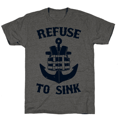 Refuse to Sink (Life Vest Parody)