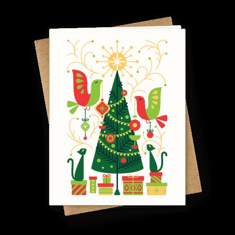 Vintage Christmas Tree Decorating