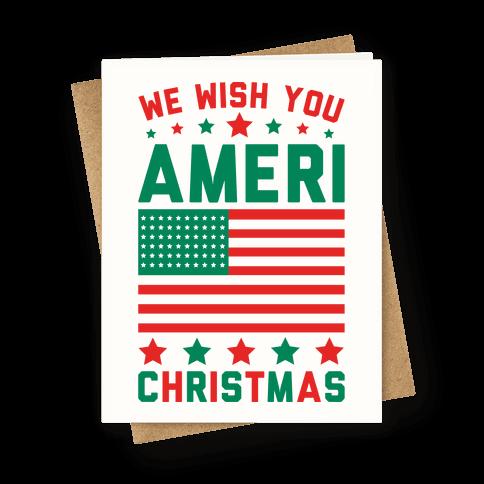 We Wish You AmeriChristmas