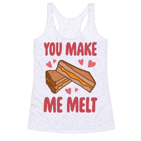 You Make Me Melt Grilled Cheese