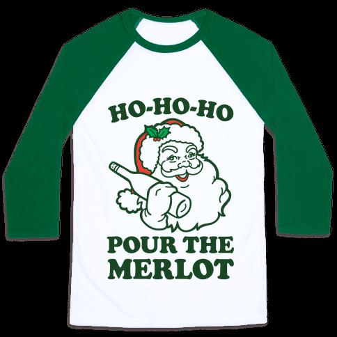 Ho-Ho-Ho Pour The Merlot