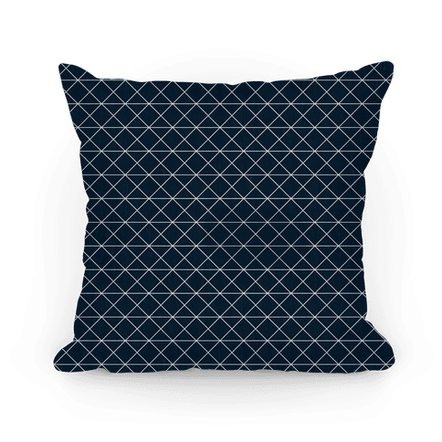 Navy Grid Pattern