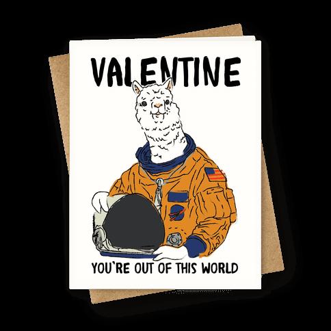 Valentine Space Alpaca
