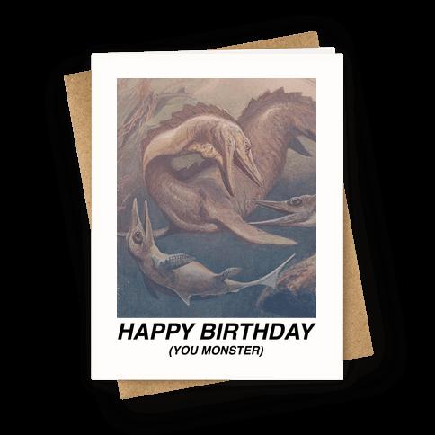 Happy Birthday You Monster