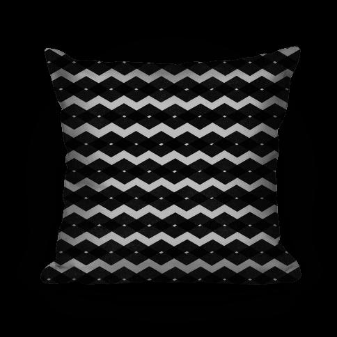 Black Zig Zag Pattern