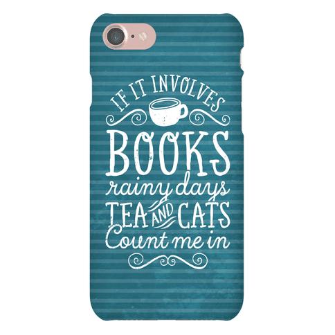 Books, Rainy Days, Tea, and Cats