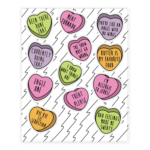 Andy Quotes Conversation Hearts