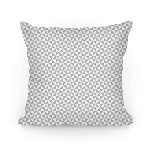 Gray Pinwheel Pattern