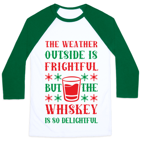 The Weather Outside Is Frightful But The Whiskey Is So Delightful
