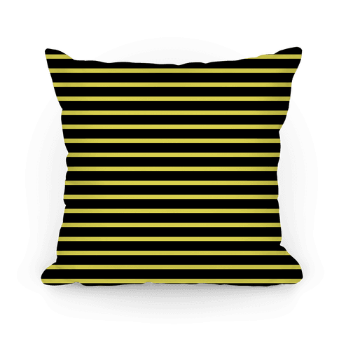 Hufflepuff House Stripe Pattern