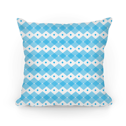 Blue Checkered Pattern