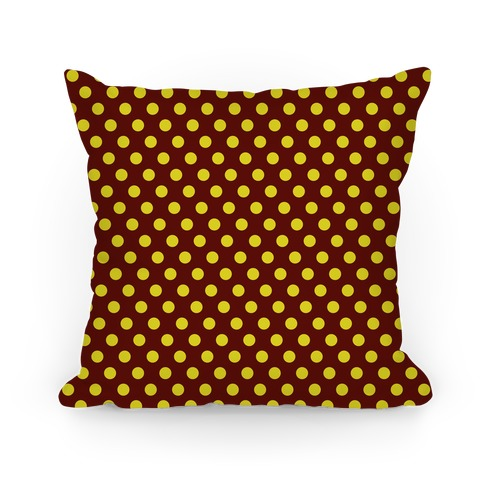 Gryffindor House Polka Dot Pattern