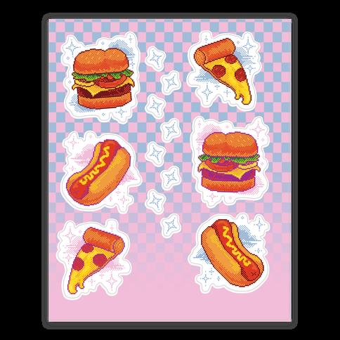 Pixel Junk Food