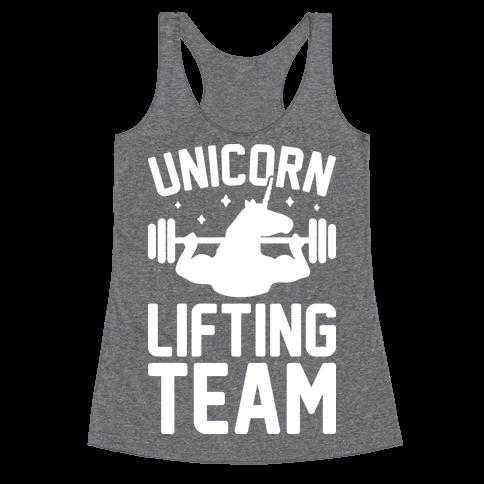 Unicorn Lifting Team (White)