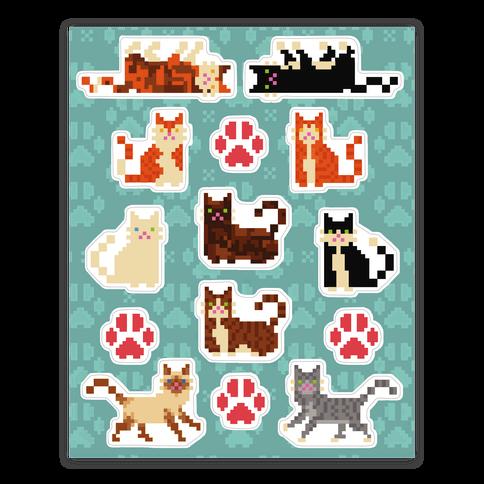 Cute Pixel Kitty Cat