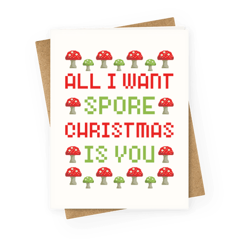 All I Want Spore Christmas Is You
