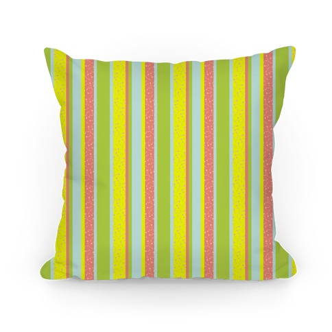 Spring Floral Stripes (Yellow and Pink)
