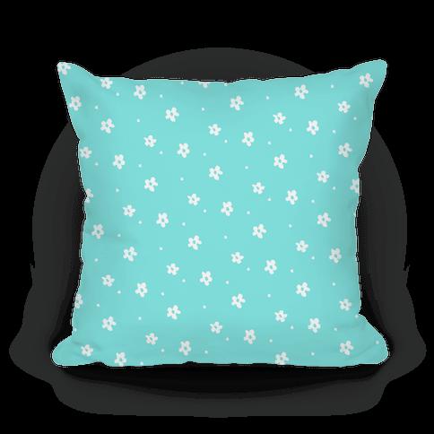 Blue Dainty Floral Pattern