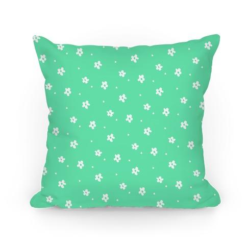 Mint Dainty Floral Pattern