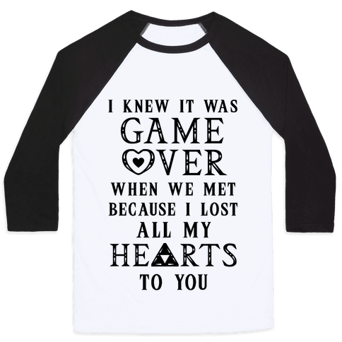 Game Over I Lost All My Hearts To You