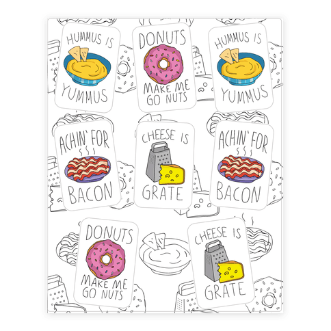 Cute Snack Pun