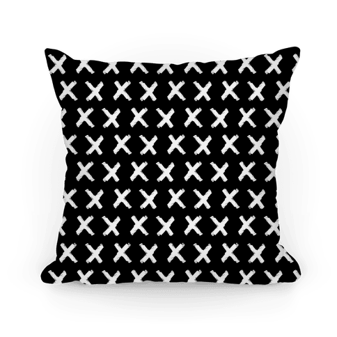 Black Criss Cross Pattern