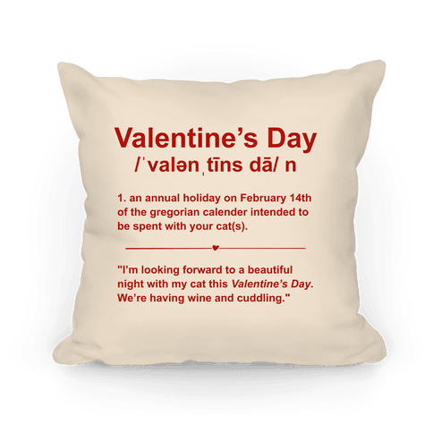 Valentine's Day Definition (Cats)