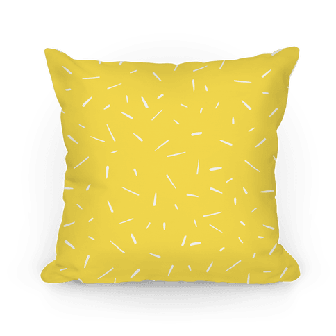 Yellow Confetti Pattern