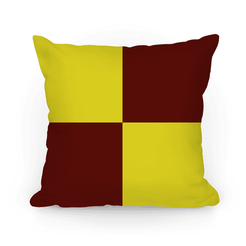 Gryffindor House Color Block Pattern