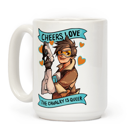 Cheers Love The Cavalry Is Queer (Illustration)