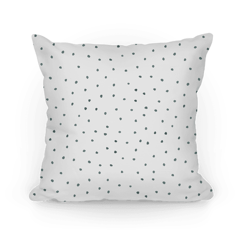 Black and White Watercolor Polka Dots