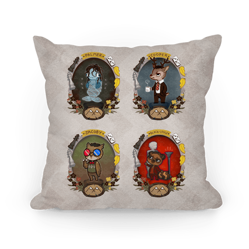 Twin Peaks Characters Pillow
