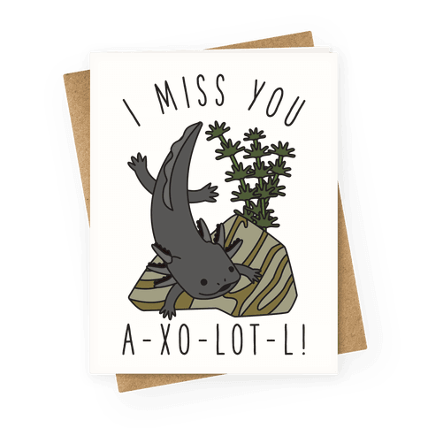 I Miss You A-xo-lot-l